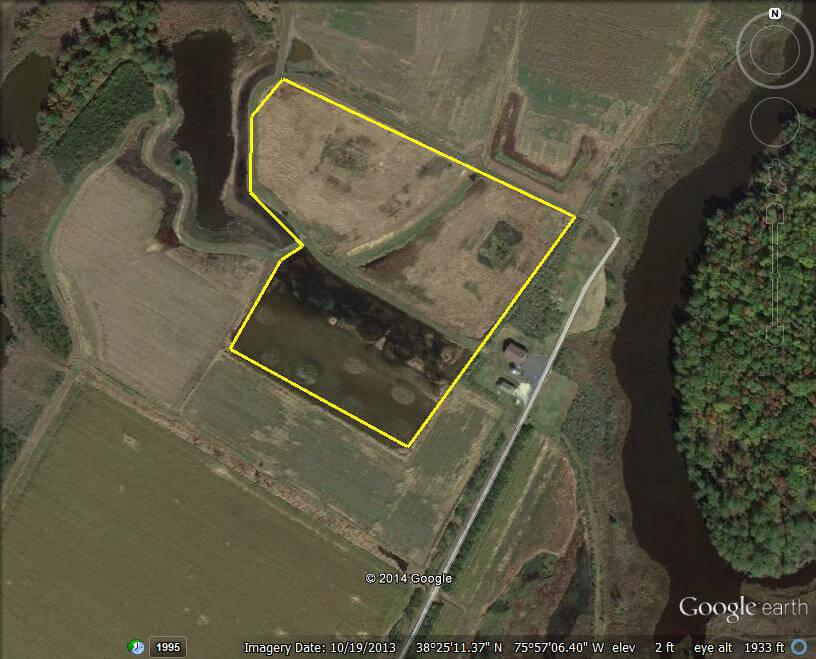 Google earth Chic farm 2014